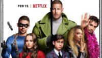 The Umbrella Academy trailer Netflix serie / Moreflix.dk